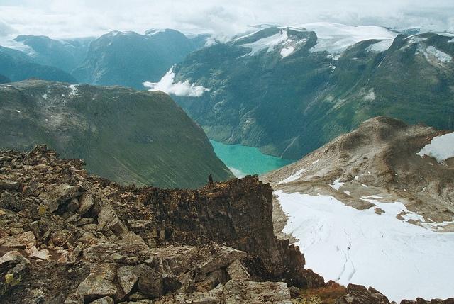 view from Skålatårnet Norway (Sogn og fjordane county)
