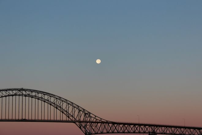 Blue Moon  Posted by: Daniel Corcoran, Miramichi, New Brunswick // Sept 1, 2012