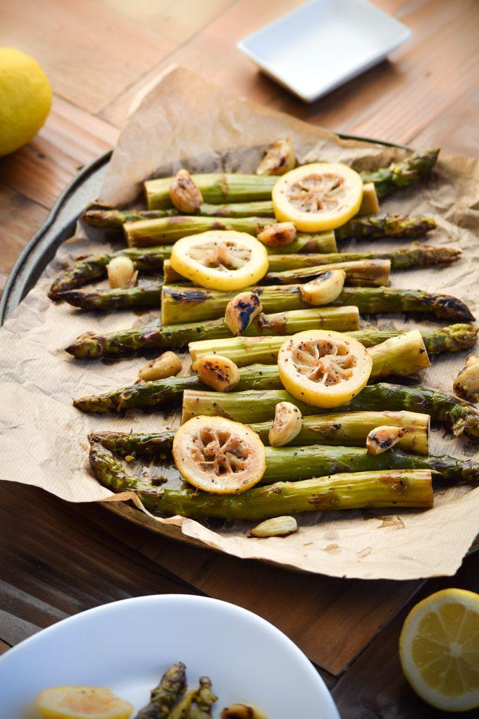 Pan-Seared Lemon Garlic and Asparagus