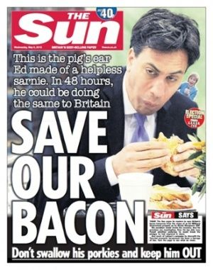 Rightwing papers make final push to keep Labour out.