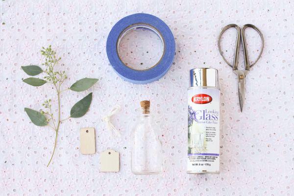 DIY: Mirrored Glass Favor Jars - Project Wedding