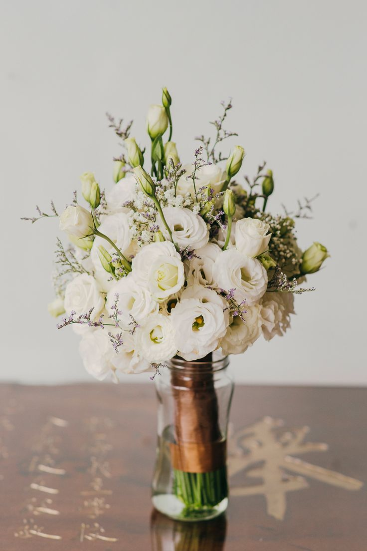 White Wedding Flowers In September : Ideas about september weddings on quirky
