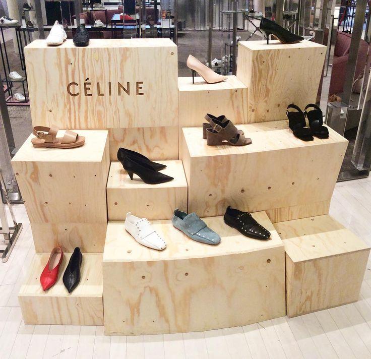 """BROWN THOMAS, Dublin, Ireland, """"Nature always wears the colors of the spirit"""", for Celine Footwear, pinned by Ton van der Veer"""