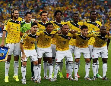 la selección Colombia 2014