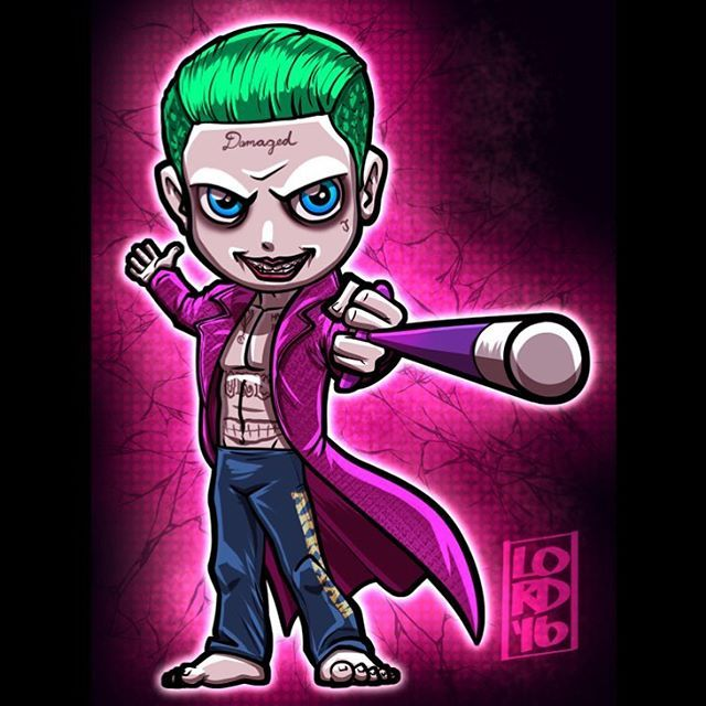 Suicide Squad: The Joker!!! By Lord Mesa