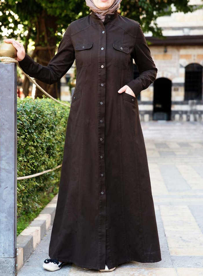 SHUKR USA | Layla Jilbab  shirtdress caftan!