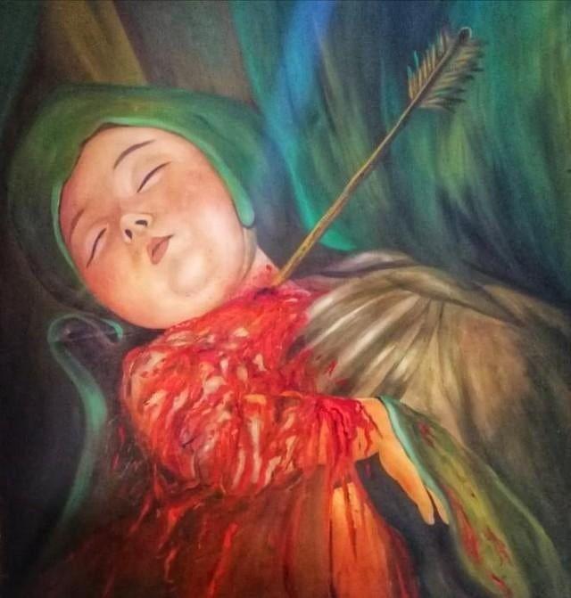 6 157 Likes 416 Comments علي ال خليفة الشمري Lwy313lwy On Instagram قسم من لوحات الفنان التشكيلي العراقي لطيف السمحان حساب الرسام Lateefal Painting Art