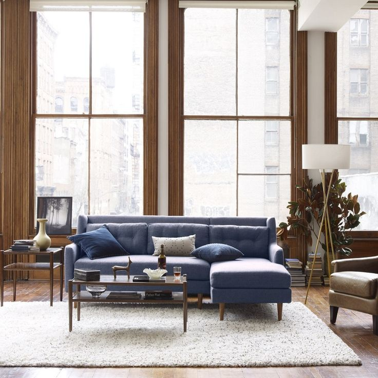 Crosby 2 Piece Chaise Sectional West Elm Australia New