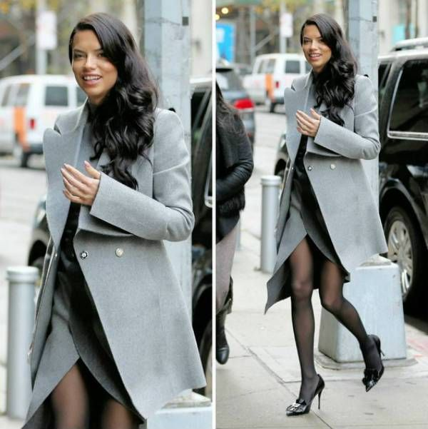 Adriana Lima on Today Show in NY 2