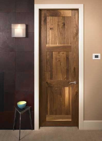 1000 ideas about modern interior doors on pinterest - Modern solid wood interior doors ...
