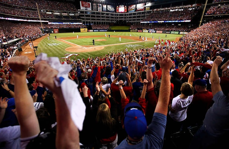 Texas Rangers Stadium - World Series 2011 - one of the best weekends of my life