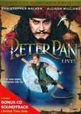 Peter Pan Live! [2 Discs] [DVD/CD] [DVD] [2014]