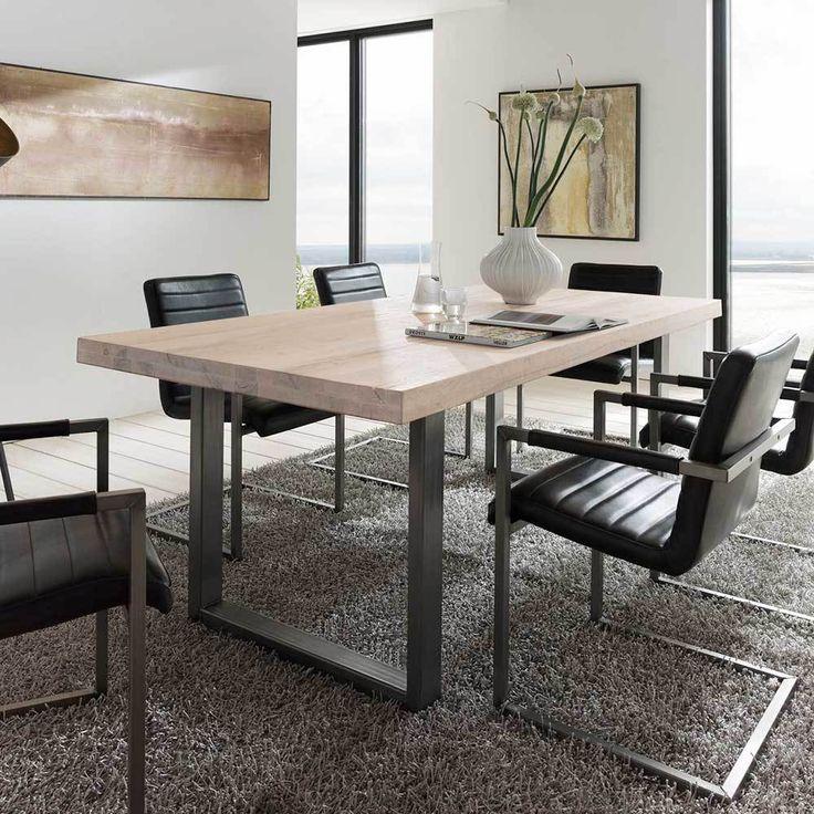 Die besten 25 tischgestell stahl ideen auf pinterest for Esszimmertisch industriedesign