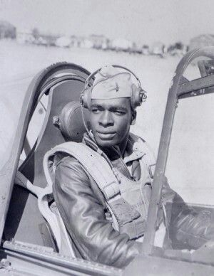 Paul Adams 332nd Fighter Group (The Red Tails) Tuskegee Airmen