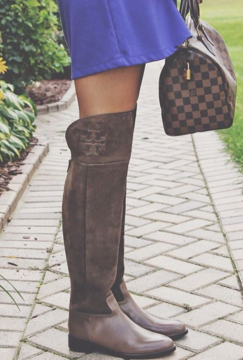 Loving these tory burch simone over the knee boot