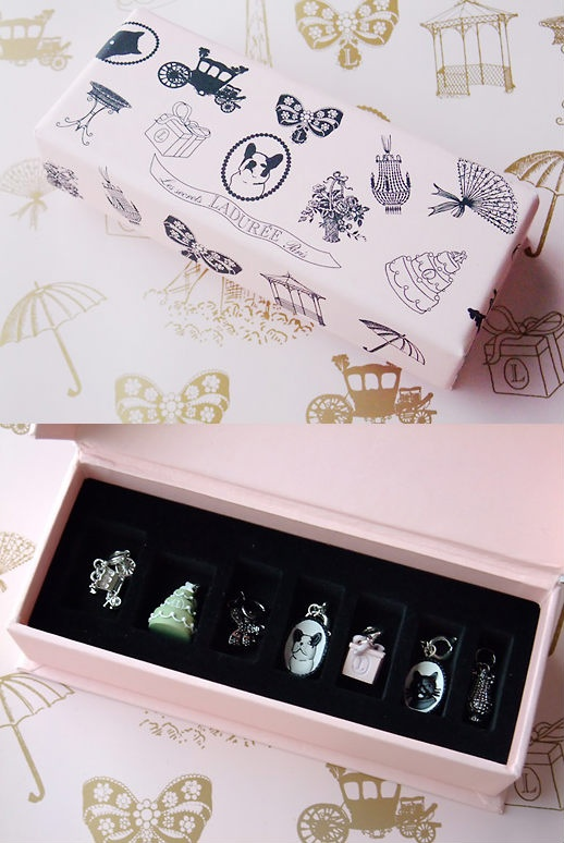 #Laduree beautiful box and #jewelry #packaging PD