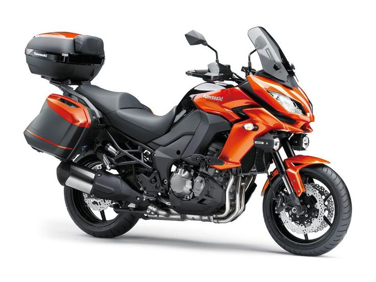 2015 Kawasaki Versys 650 ABS/LT First Ride Review   Video