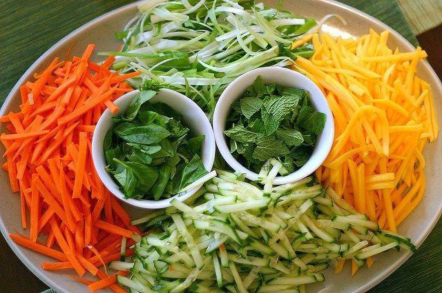 cellophane noodle salad with roast pork