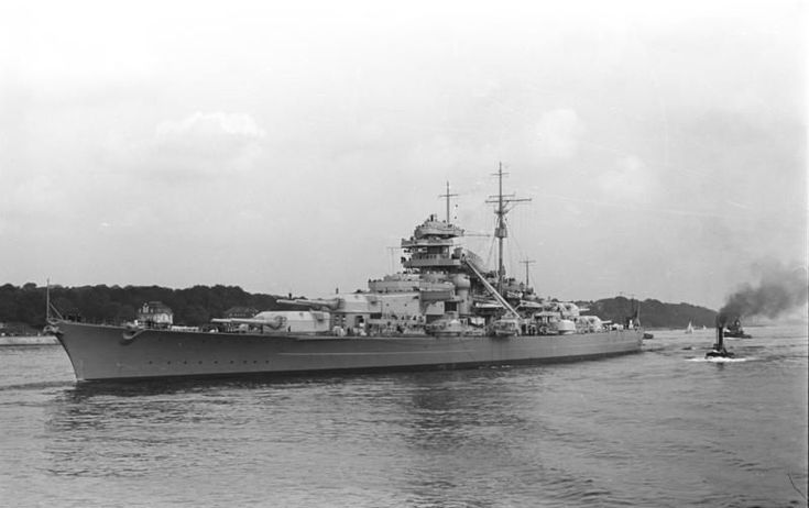 This Day in WWII History: May 27, 1941: Bismarck sunk by Royal Navy