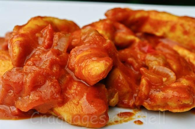 emince de poulet paprika recettes plat pinterest. Black Bedroom Furniture Sets. Home Design Ideas