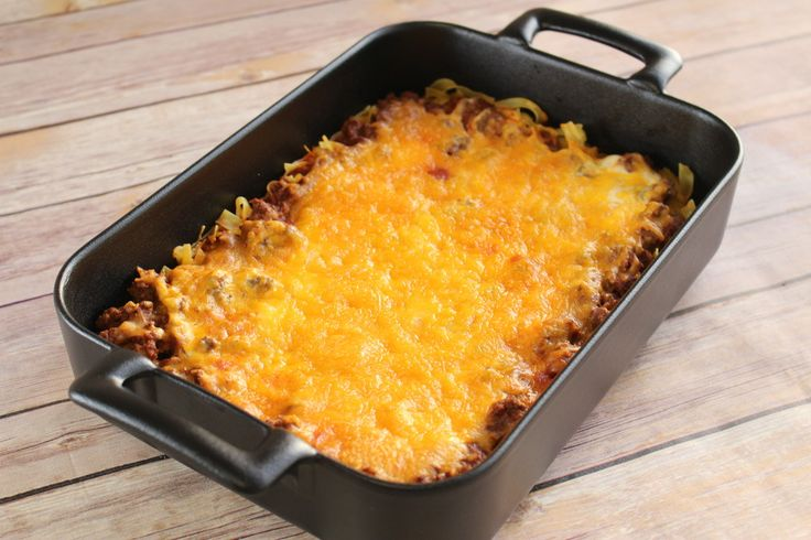 """Beef and Noodle Casserole - """"Super easy and tasty, and definitely feeds more than my family of 4. Leftovers are always welcome, so we'll be making this again!"""""""