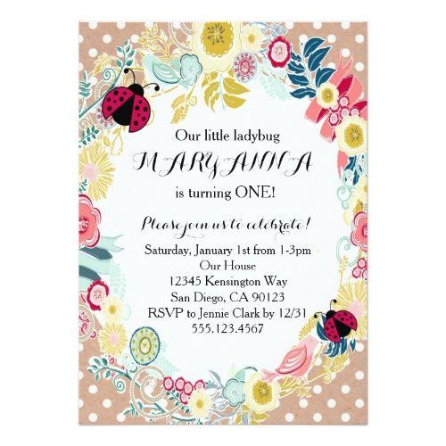 Best Girls St Birthday Party Invitations Images On Pinterest - Invitation birthday party girl