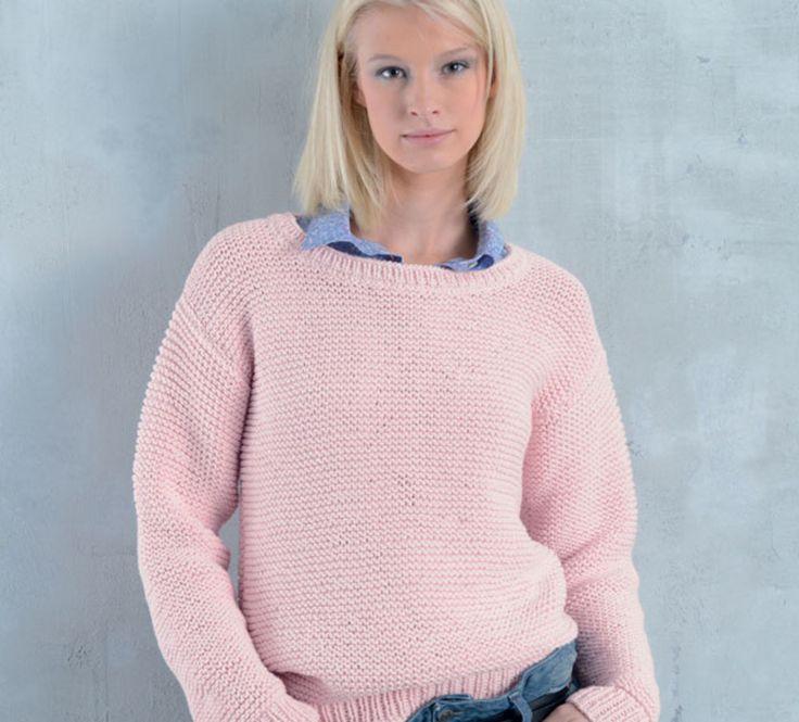 Les 156 meilleures images du tableau tricot sur pinterest crochet de tricot tricots et crochet - Broderie sur tricot point mousse ...