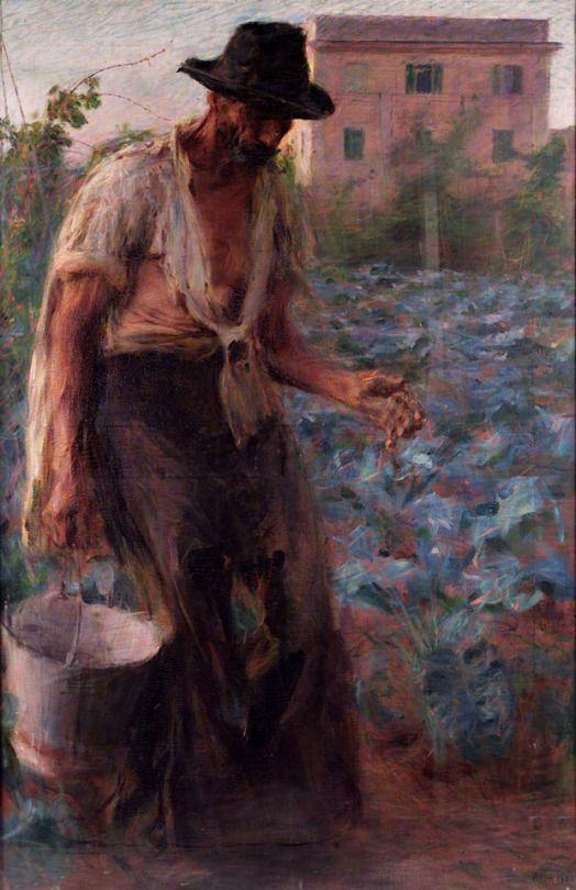 Giacomo Balla Il contadino, 1902-3