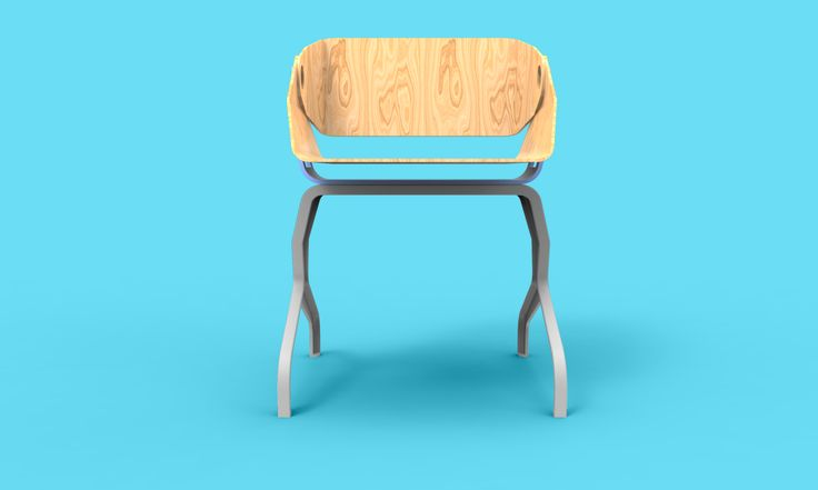 This chair was the chhosen one in my product design course. The theme of the semester was curved furnuture designs.