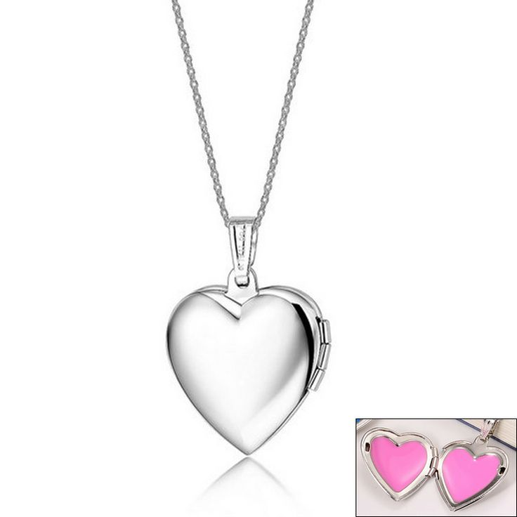 PUN032P Top quality vacuum plated 18k rose gold heart necklace,Titanium Stainless steel necklace, antiallergic free shipping $298,98