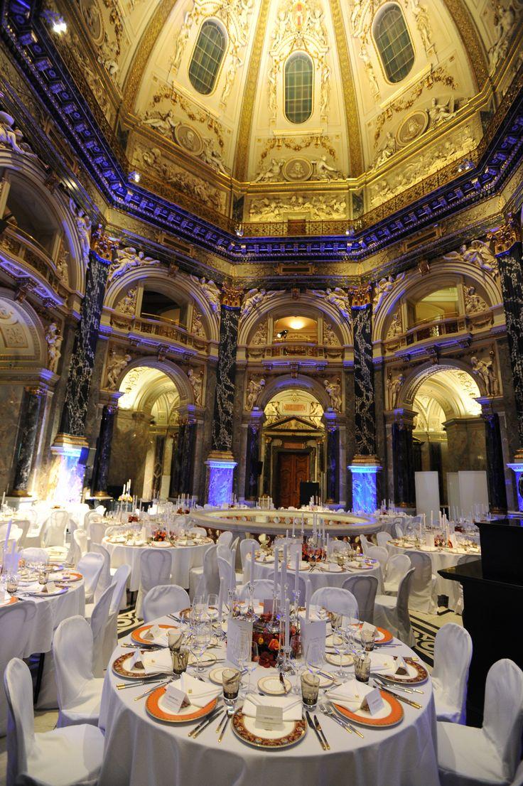 Villeroy & Boch #dinner ware as part of the 2014 Vienna Opera Ball