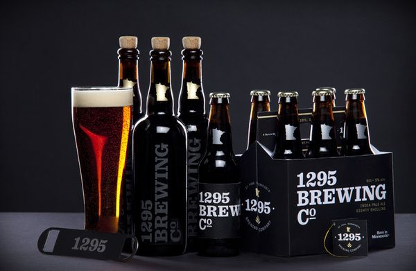 1295 Brewing Co. by Tom Hayes, via Behance