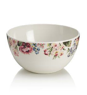 Country Garden Floral Bowl