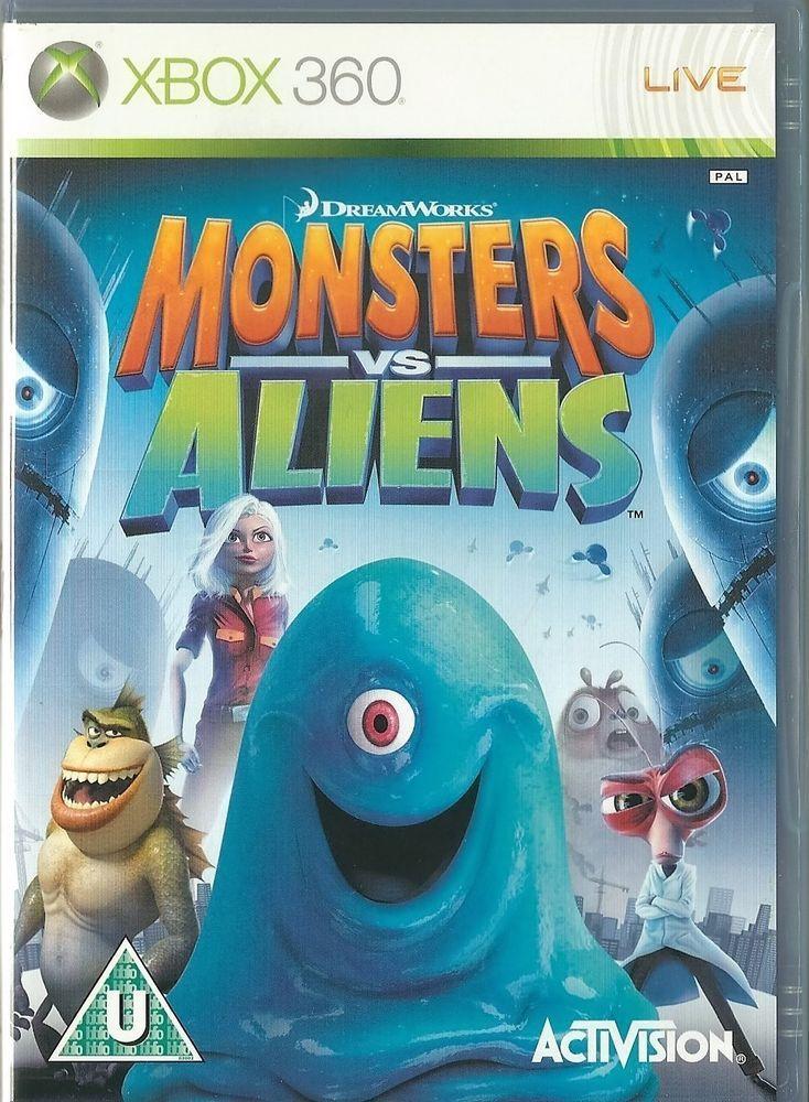 17 best ideas about monsters vs aliens 2 monsters details about xbox 360 dreamworks monsters vs aliens