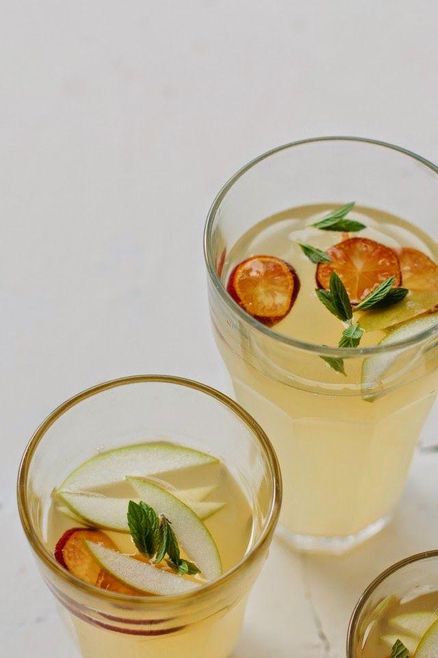 Homemade lemon + lime cordial