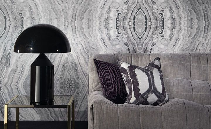 Textile Tuesday: Zinc Textiles Surround Wallpaper Collection | The English Room