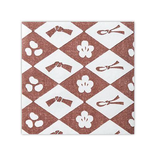 木版和紙 - 福茶 -【竹笹堂Online】木版画デザインのブックカバー・ポチ袋などの和紙製品・画材ショップ