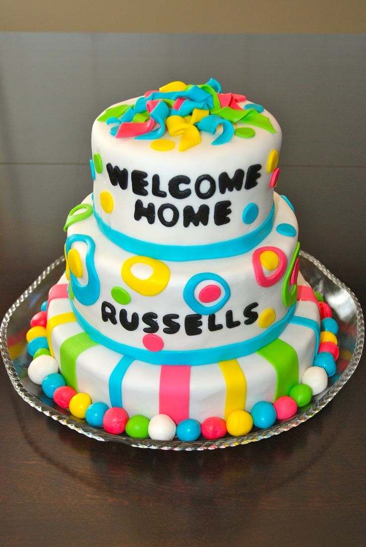 1000 images about welcome home cake ideas on pinterest for Welcome home cake decorations
