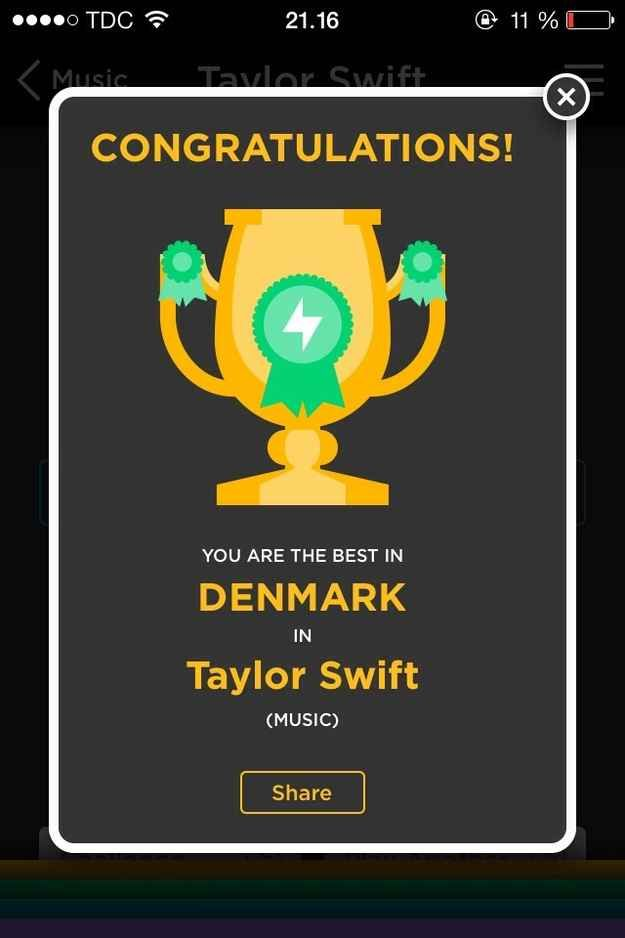 This is your version of an Olympics gold medal. | 21 Signs QuizUp Is Rapidly Taking Over Your Life