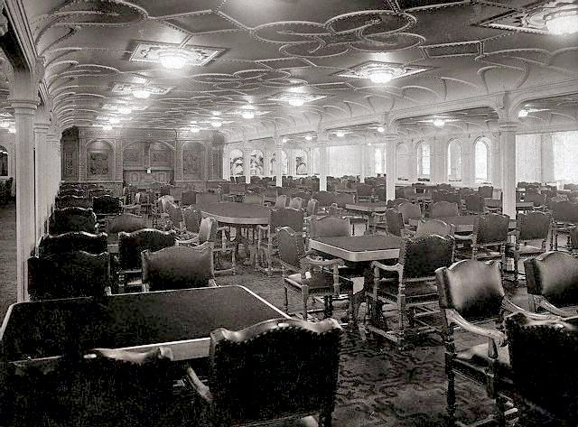 Last Dinner On The RMS Titanic