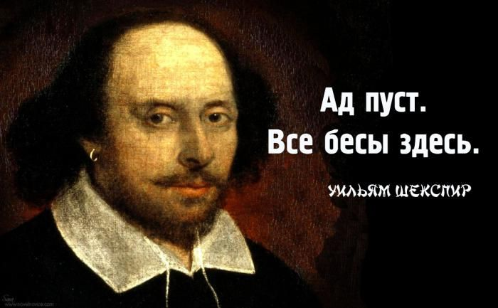 Цитаты из Шекспира - Литература, поэзия и искусство