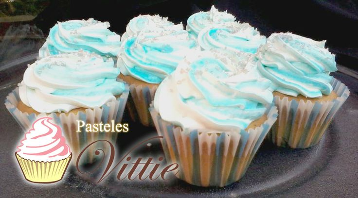 Our traditional vanilla cupcakes!