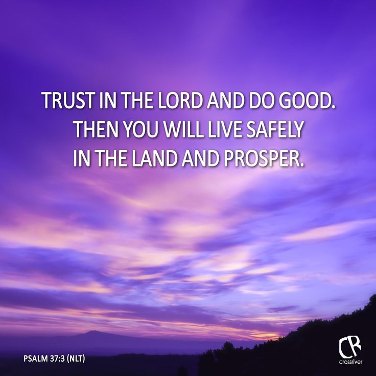 Trusting In The Lord Quotes