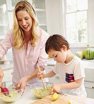 Make today a day that you get your children involved with you in the kitchen. This time together nurtures healthful eating and engagement for a healthier way of living. #dietfreelife