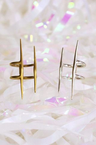 Parallel Quill Ring - K/LLER COLLECTION – Living Collective