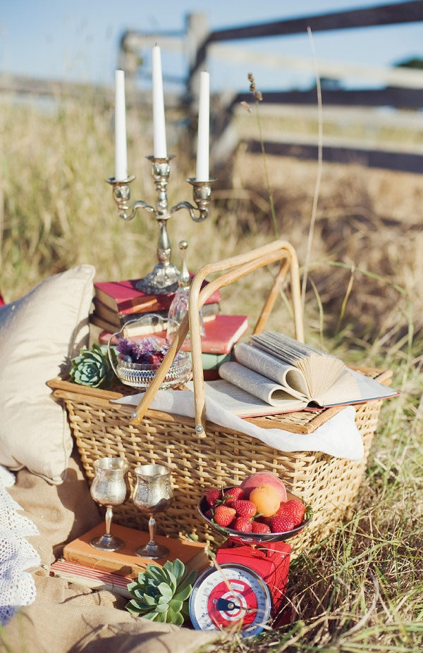Who says you can't use the good silver? #Picnicking #Eating #SummerofDoingPicnics Ideas, Floral Design, Company Picnics, Summer Picnics, Candles Holders, Country Picnics, Romantic Picnics, The Farms, Picnics Baskets