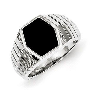 Men's Hexagon-Shaped Black Onyx CZ Ring In Sterling Silver Jewelry Available Exclusively at Gemologica.com Valentine's Day 2015 Jewelry Gift Ideas for Him, Her and Kids. Gemologica has the perfect homemade and creative gifts for your boyfriend, girlfriend and for couples including rings, earrings, bracelets, necklaces and pendants. Shop now for special savings at https: www.gemologica.com Gift Guide Located at https://www.gemologica.com/jewelry-gift-guide-c-82.html