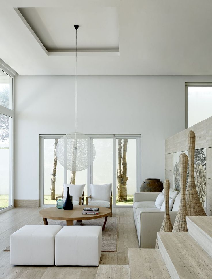 C House by Archipelago Design Works | organic and earthy living room design