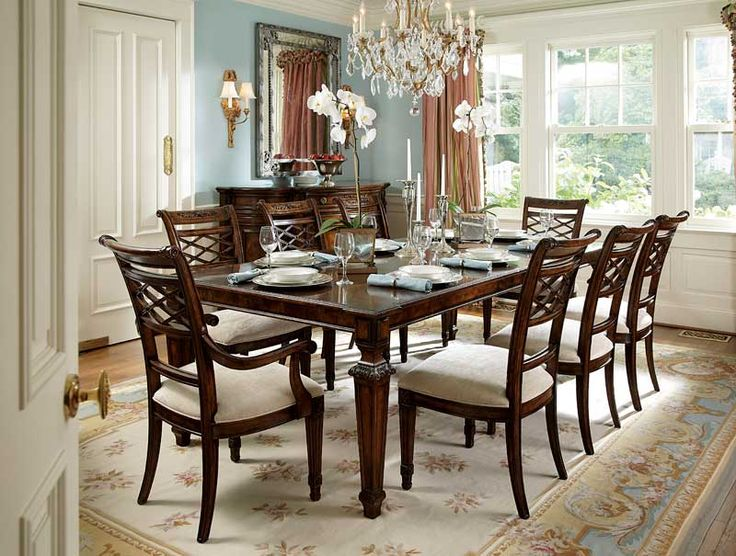Ornate Carving And Detailing Suggest A Definite Louis XIV Influence That Blends Harmoniously With More Modern Style To Make Our Table Perfect For