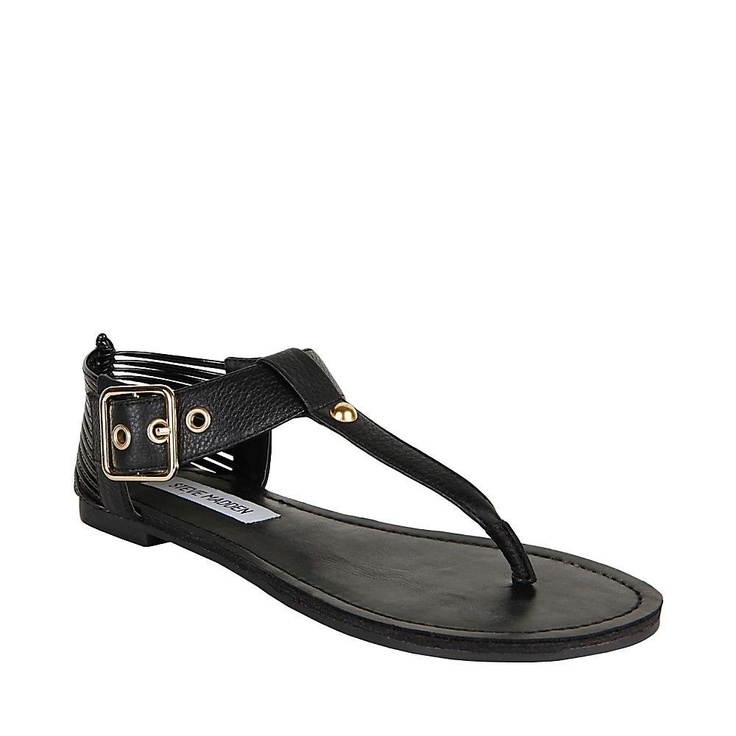 Serenite - Summer Fashion Slip On Sandals by Steve Madden